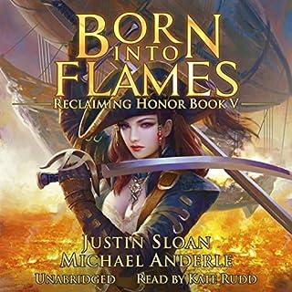 Born Into Flames audiobook cover art