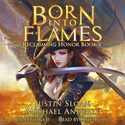 Born Into Flames audiobook cover art