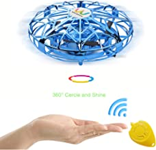 WECATION Flying Ball, Hand Operated RC UFO Toy for Kids Boys Girls Gifts Rechargeable Infrared Induction Helicopter for Indoor and Outdoor Games