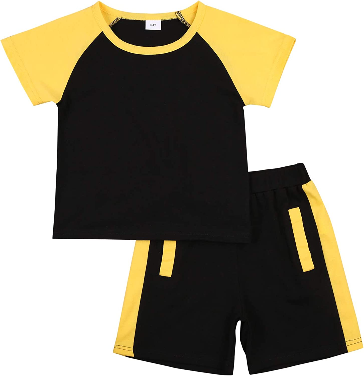 Toddler Baby Boy Daily bargain sale Summer Clothes Short Shorts Top T Shirt Sleeve OFFicial
