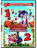 Cloudy with a Chance of Meatballs 1 & 2 (Double Feature 2-DVD Set)