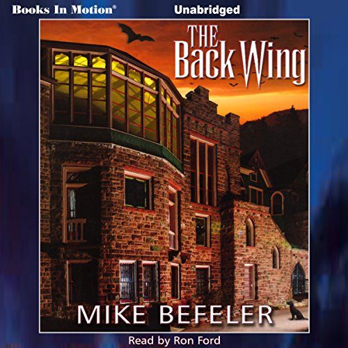 The Back Wing audiobook cover art