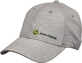 قبعة بيسبول رجالي من John Deere Tractors مطبوع عليها شعار Performance Off Center