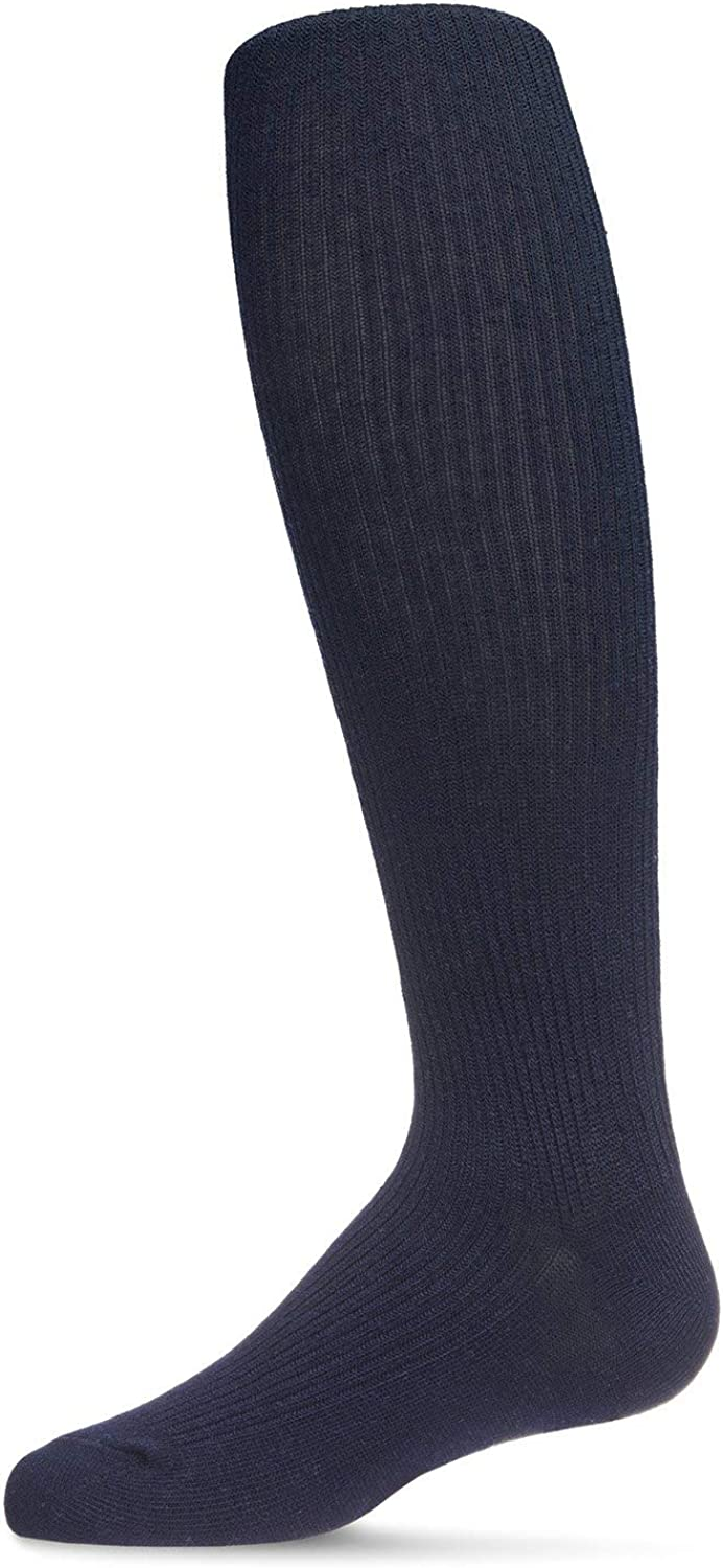 MeMoi Pinned Ribbed Cotton Tights