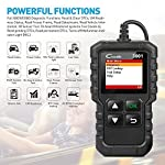 """LAUNCH Creader 3001 OBD2 Scanner Automotive Car Diagnostic Check Engine Light O2 Sensor Systems OBD Code Readers Scan… 11 : LAUNCH Creader 3001 obd2 scanner read and clear fault codes for engine system. In addition, Creader 3001 built in fault codes definition lookup library. LAUNCH Creader 3001 obd2 scanner works on most 1996 and newer US-based vehicles that are OBDII compliant (OBDII protocols: KWP2000, ISO9141, J1850 VPW, J1850 PWM and CAN). """"PLUG AND PLAY"""" scan tool, equipped with a 2. 5 feet long cable and made of a very thick flexible insulator, very easy to use for beginners. : You can use this obd2 scanner to check the status of emission-related monitors misfire system and fuel system, make sure the monitor was set before taking it to smog, help you pass the Smog Check easily, save your money for paying fine tickets. : Turns off the MIL , if you finished repairing the faulty components, then clear the fault codes and turn on the vehicle ignition, it is surprise that you will find the check engine light is off. And more, LAUNCH Creader 3001 obd2 scanner can read the car's information such as VIN number."""