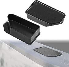 Yeeoy Truck Bed Rail Stake Pocket Covers Caps Rail Hole Plugs Fits 2014-2018 GMC Sierra Chevy Silverado (A Pair)