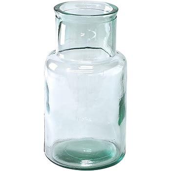 SPICE OF LIFE(スパイス) 花瓶 リサイクルガラスフラワーベース VALENCIA クリア 直径15cm 高さ27.5cm スペインガラス VGGN1060