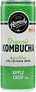 Remedy Organic Kombucha Apple Crisps, 250ml