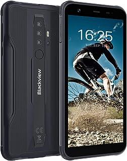 Blackview BV6300 SIMフリー スマホ本体 Android10 タフネススマホ 11.6mm薄型ボディIP68防水スマホ 耐衝撃 防塵 8MP+13MPカメラ 3GB+32GB オクタコア 4380mAh TYPE-C充電口 ア...