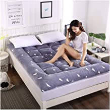 Futon Mattress Tatami Bed Soft Mattress Portable Mattress for Daily Use Bedroom Furniture Mattress Dormitory Bedroom Thick...