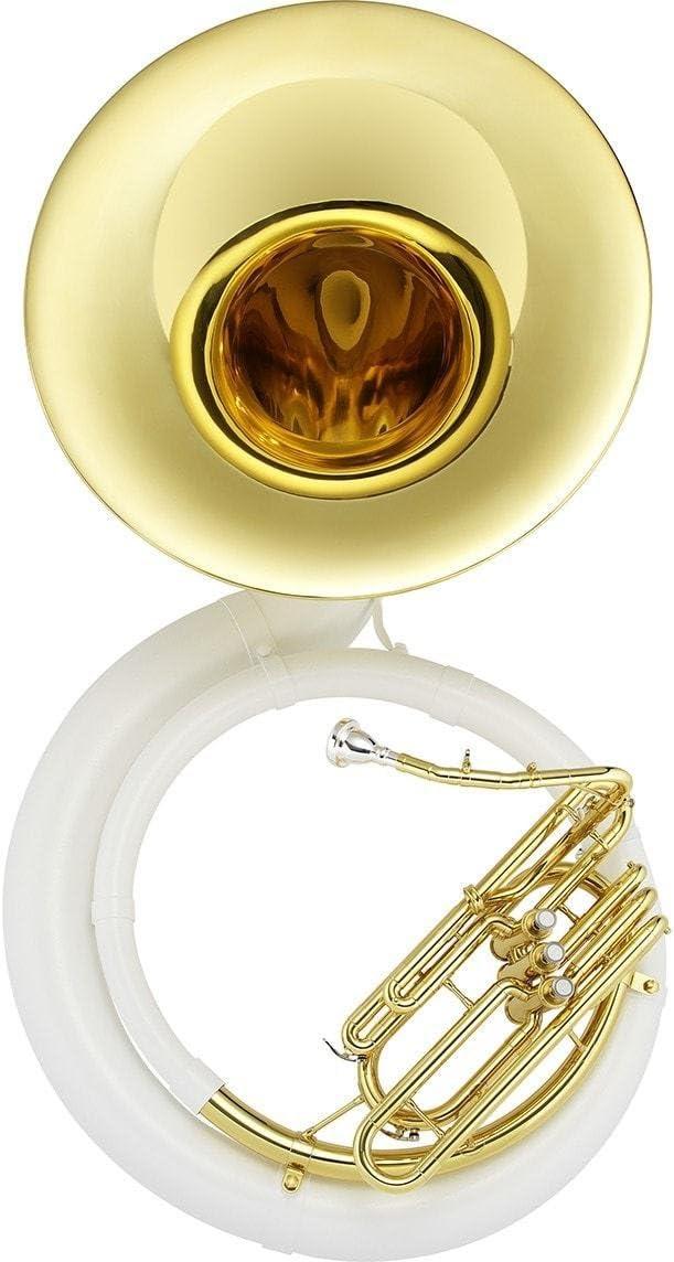 Jupiter BBb [Alternative dealer] Fiberbrass Sousaphone JSP1010 Brass Bell San Francisco Mall