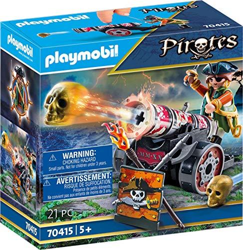 PLAYMOBIL Pirata con cañón  70415