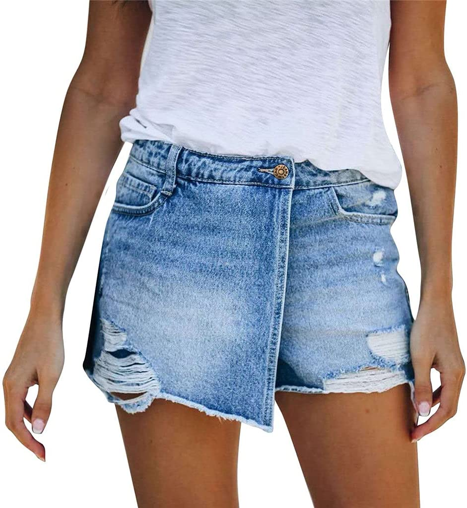 PDGJG Fashion Summer Jeans Shorts Ranking TOP5 Casual Streetwear Women's Inse Manufacturer regenerated product