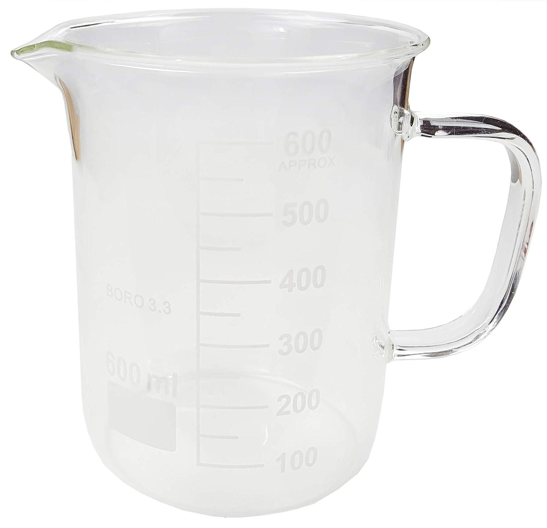 Beaker Mug 600 mL with spout Pour Sale Max 77% OFF