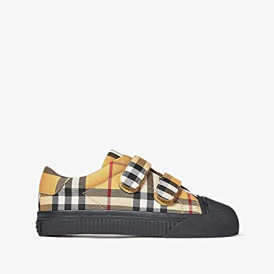 Burberry Kids Belside VC (Toddler/Little Kid) (Antique Yellow/Black) Kid