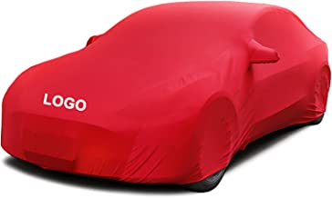Car Cover Compatible with Vauxhall Astra Gtc, Elastic and Breathable, Dustproof, Soft, Velvet, Used in Underground Garages...