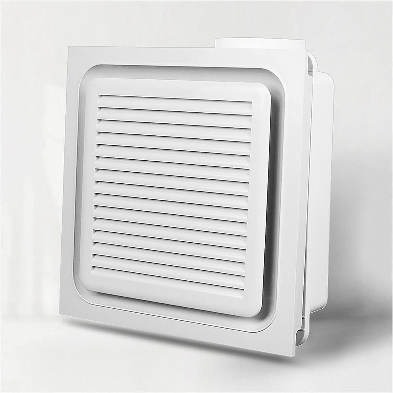 Ventilador extractor Baño integrado de ventilación del techo Baño Potente ventilador de escape de techo incrustado CORRIENTE CONTINUA Inversor 3 Ventilación Ajustable Ventilación Ventilación, Blanco V