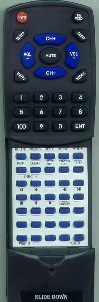 Virginia Beach Mall Replacement Remote It is very popular Control for PWW1147 CUPD100 Pioneer PDF908