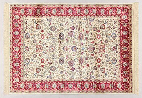 ABC Tapis Bizantin 160 x 230 cm Beige/Rosso