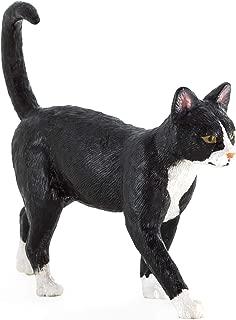 MOJO Cat Black & White  Toy Figure