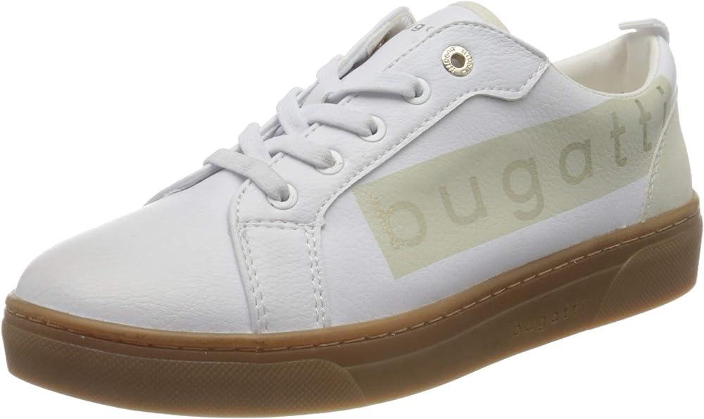 Bugatti,scarpe sneakers per donna,in ecopelle 432877085055