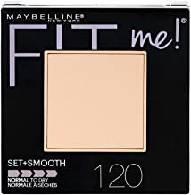 Maybelline New York Fit Me Set + Smooth Powder Makeup, Classic Ivory, 0.3 oz.