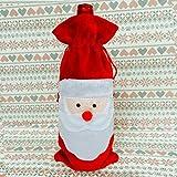 WENJIE Divertente Abbigliamento di Natale Copertura per Bottiglia di Vino Decorazione Ador...