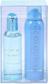 Colour Me Sky Blue Casket by Milton Lloyd for Women - Eau de Toilette, 90 ml and 150 ml
