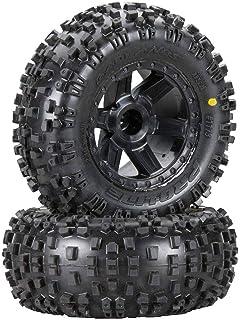 Proline 1013113 Badlands MX43 Pro-Loc All Terrain Tires (2) Mounted On Impulse Pro-Loc Wheels, for X-Maxx