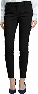 Women's Straight Pants Stretch Slim Skinny Solid Trousers...
