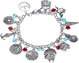 Lureme Vintage Bracelet with Multi Charms Bracelet Best Gift for Movies Fans (bl003116)