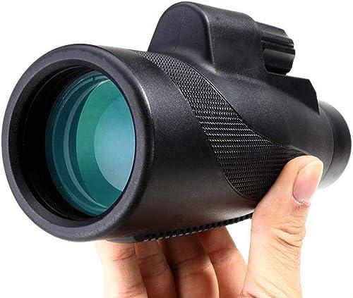 GAL 8x24 Monoculaires Télescope Photo à Faible Niveau de luminosité, Grand Champ de Vision Télescope BAK4 étanche rempli de nitrogène portable Mini Connect Mobile Phone portable
