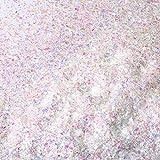 Nieve Centelleo de Navidad Nieve Falsa de Decoración de Artesanía Nieve Falsa Artificial en Escamas Relleno de Polvo para Decoración de Fiesta de Navidad, 5,3 Onza (Color AB)