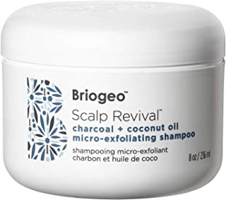 BRIOGEO SCALP REVIVAL CHARCOAL + COCONUT OIL MICRO-EXFOLIATING SHAMPOO- 236ml
