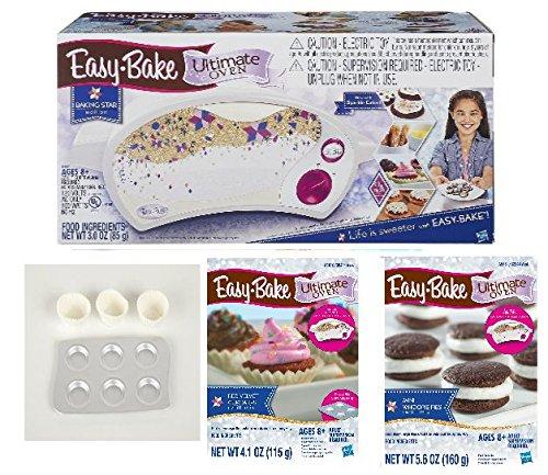 Easy-Bake Ultimate Oven Deluxe Gift Set, White