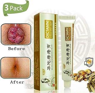 3 Pack Huatuo Hemorrhoids Cream -DICTAMNI - Antibacterial