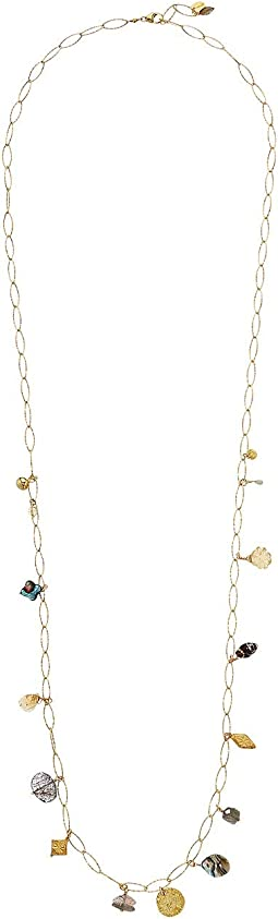 Mixed Charm Long Necklace