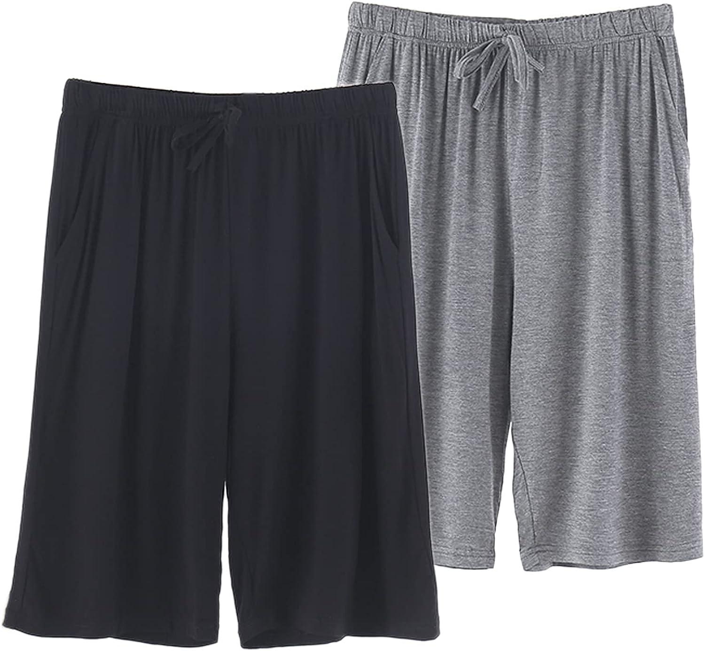 SHENGDA Men's Pajama Shorts Comfortable 2021 Limited time sale model Lounge Ultra Soft S