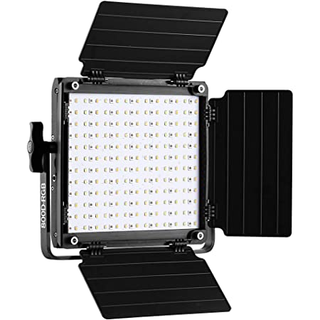 GVM RGB LED Video Light, 800D Photography Lighting with APP Control, Video Light for YouTube Outdoor Studio, Led Panel Video Light (Not Include Stand)