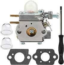 Dalom WT-973 Carburetor + Carb Adjustment Tool for Cub Cadet BC280 BC210 CC212 CS202 SS270 Trimmer Weed Eater Yard Machines Y25 Y60 Y2500 Y2550EC Y2700EC Y2900EC Brushcutter YM21CS YM71SS