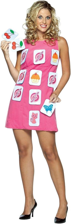 Memory Dress (Pairs Game)  Adult Fancy Dress Costume