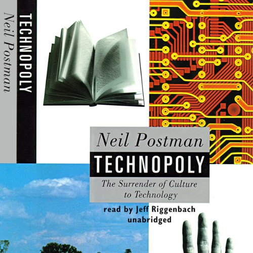 Technopoly audiobook cover art