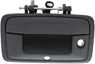APA Replacement For 2014-2015 Silverado Sierra Textured Black Tailgate Handle w/Keyhole and Camera Hole 23448681 photo