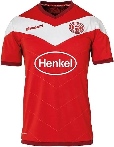 Uhlsport Fortuna Düsseldorf - Camiseta de fútbol para hombre: Amazon.es: Ropa y accesorios
