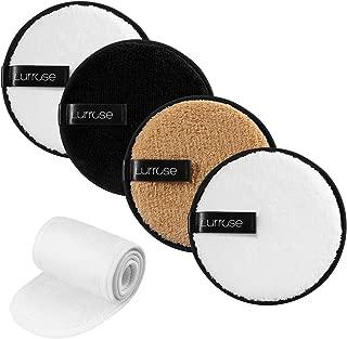 Lurrose Tampons de Coton du Visage Carr/és 200pcs /Épaissis Tampons Doux de Nettoyage de Visage