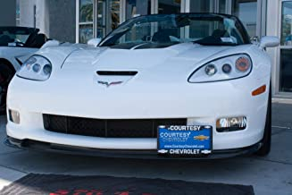 2005-2013 C6 Corvette Z06, ZR1, Grand Sport STO-N-SHO Removable Take Off Front License Plate Bracket by StonSho