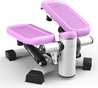 leikefitness Premium Portable Climber Stair Stepper & Waist Fitness Twister Step Machine with LCD Monitor ST6600
