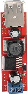 FastUU Módulo regulador USB, prático e fino acabamento, módulo de carregamento USB duplo resistente à corrosão com 5V/3A p...