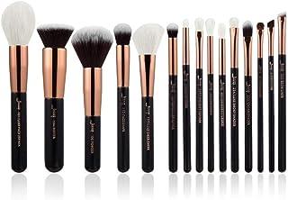 Jessup Rose Gold/Black Professional Makeup Brushes Set Make up Brush Tools kit Foundation Powder Definer Shader Liner