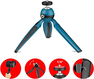 Joby Handypod Mini Tripod and Handgrip for DSLR, Mirrorless CSC and Compact Cameras, LED Lights, Microphones, Portable Speakers, Action Cameras and Accessories Up to 1 Kg JB01555-Bww, Mars Green